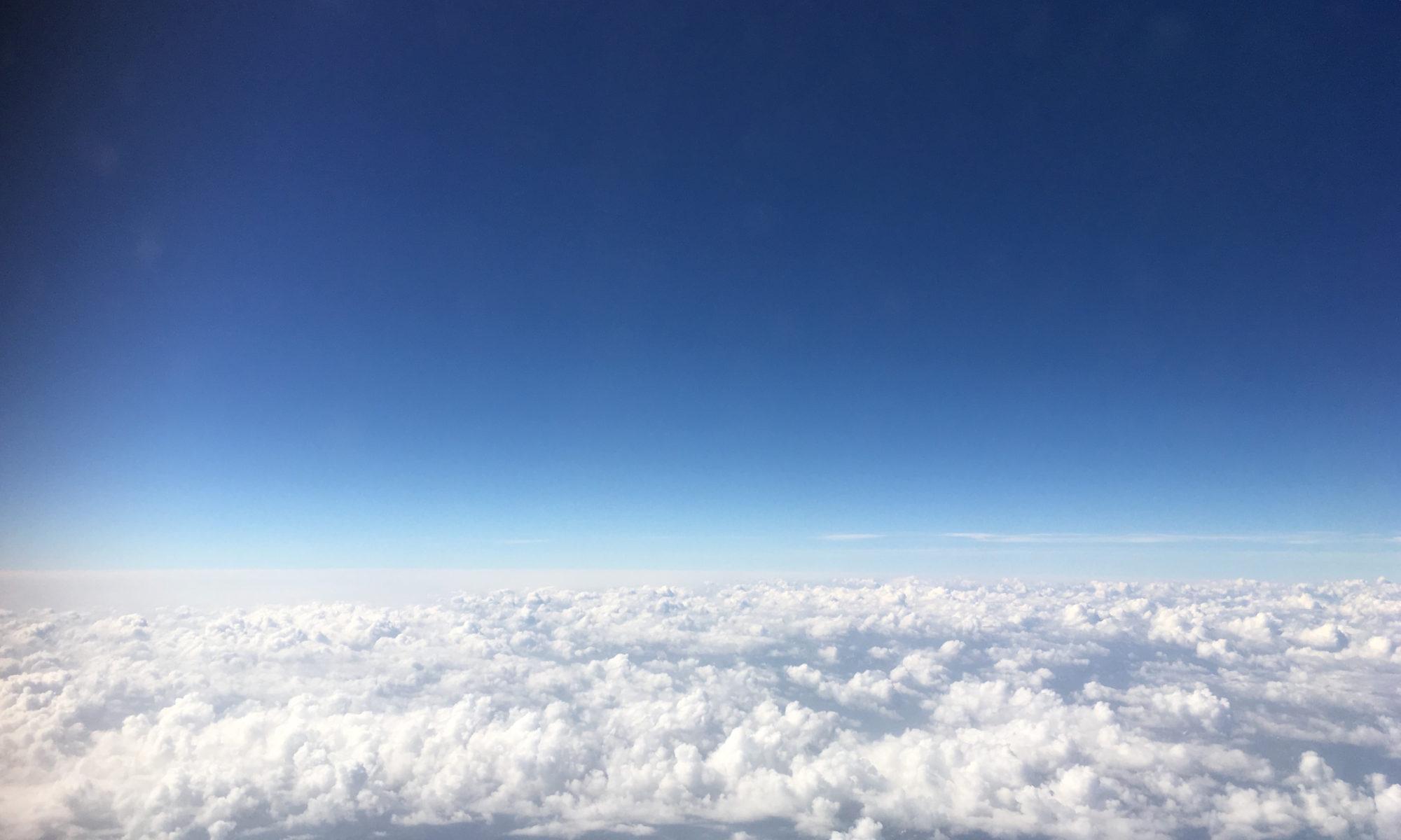 Den Horizont erweitern.